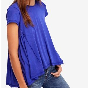 Free people-It's yours high-low shirt